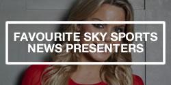 Sky Sports News Presenters