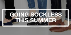 Men's Style - Going Sockless This Summer