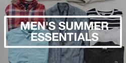 Men's Summer Fashion Essentials